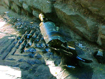 broken bottle